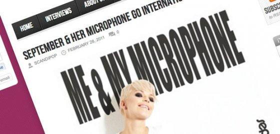 September & Her Microphone go international!