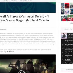 My mashup with Axwell Λ Ingrosso Vs Jason Derulo gets to Scandipop!